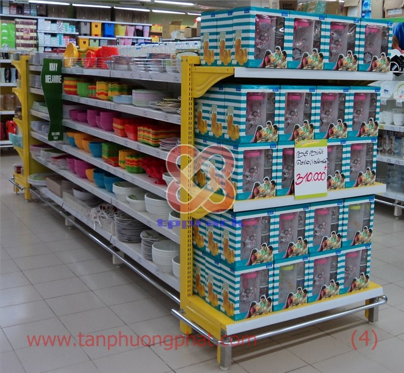 Supermarket Shelves