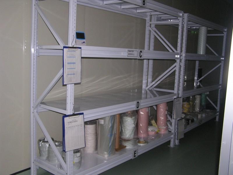 Steel Front Shelf Lot